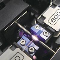 Épissage fibre optique